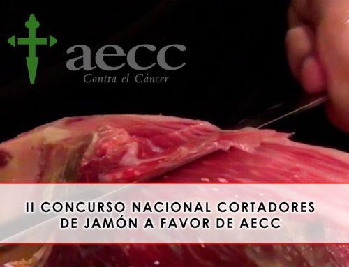 Concurso Nacional Cortadores de Jamón, a favor AECC