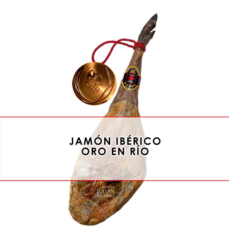 jamón ibérico oro en los juegos olímpicos