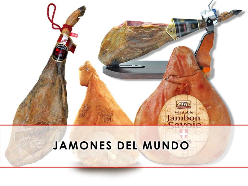 El jamón en el mundo