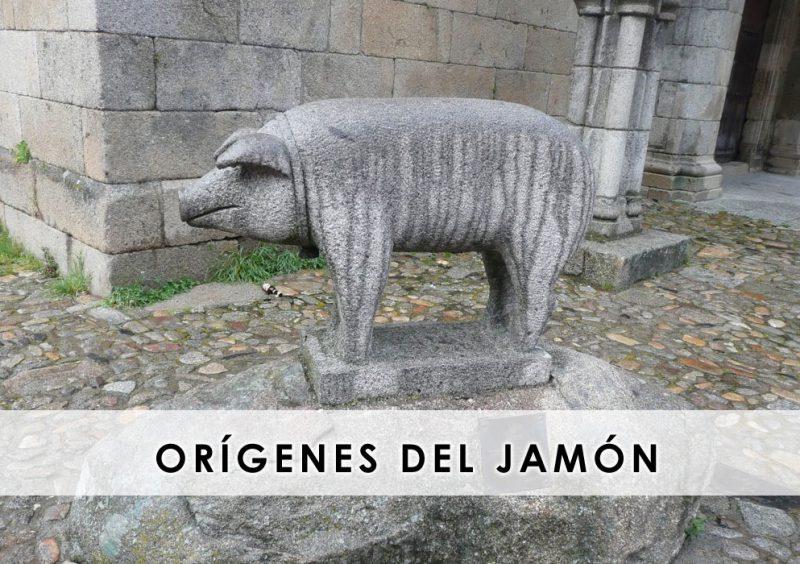 orígenes del jamón