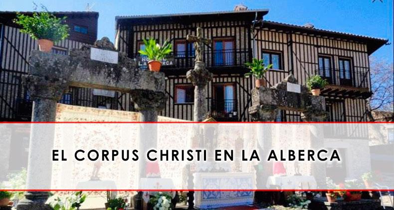 Corpus Christi en la Alberca