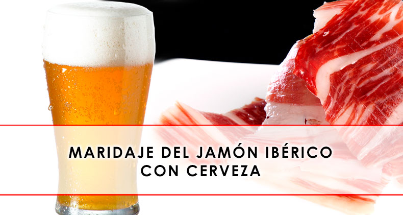 Maridaje del jamón ibérico con cerveza
