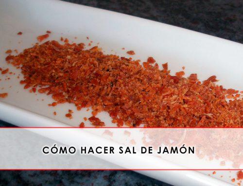 Cómo hacer sal de jamón y usos