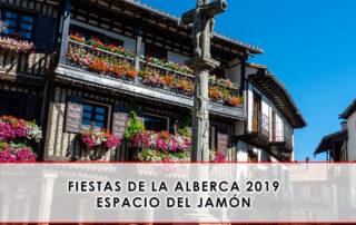 Fiestas de La Alberca 2019 espacio del jamon
