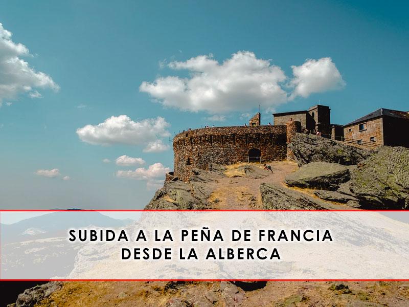 Subida a la Peña de Francia desde La Alberca - Espacio del Jamón